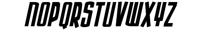 Armor Piercing Italic Font UPPERCASE