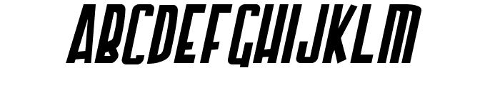 Armor Piercing Italic Font LOWERCASE