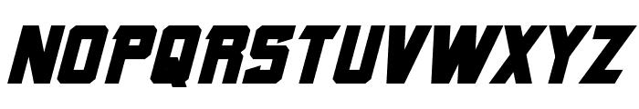 Armorhide Bold Italic Font UPPERCASE
