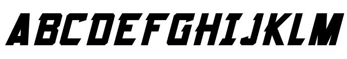 Armorhide Italic Font UPPERCASE