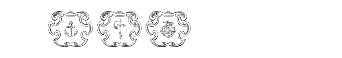 Armorial Font OTHER CHARS