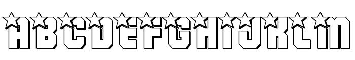 Army Rangers 3D Regular Font UPPERCASE