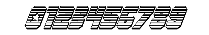 Army Rangers Chrome Italic Font OTHER CHARS