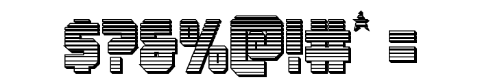 Army Rangers Chrome Regular Font OTHER CHARS