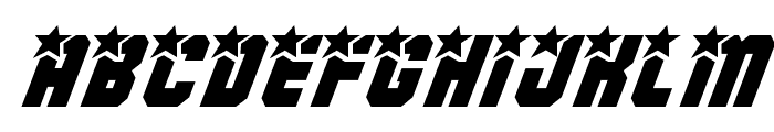 Army Rangers Italic Font UPPERCASE