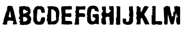 ArmyChalk Font UPPERCASE
