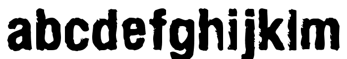ArmyChalk Font LOWERCASE