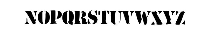 ArmyStamp Font UPPERCASE