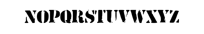 ArmyStamp Font LOWERCASE