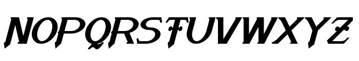 Arneson Bold Italic Font UPPERCASE