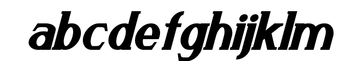 Arneson Bold Italic Font LOWERCASE