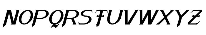 Arneson Italic Font UPPERCASE