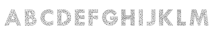 Aroly Font UPPERCASE