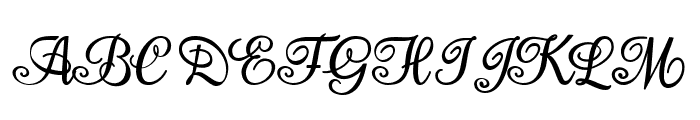Aromabar Personal Use  Font UPPERCASE