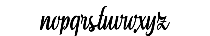 Aromabar Personal Use  Font LOWERCASE