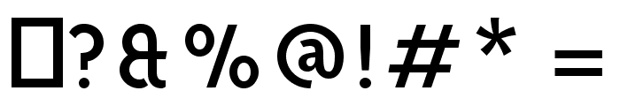 Aron Grotesque Regular Font OTHER CHARS
