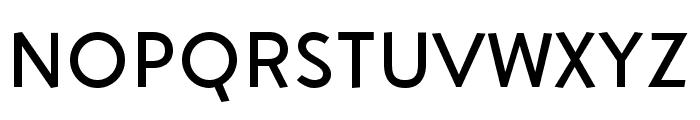 Aron Grotesque Regular Font UPPERCASE