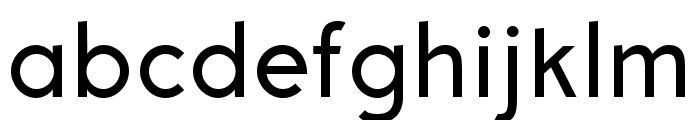 Aron Grotesque Regular Font LOWERCASE
