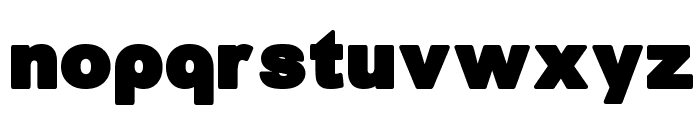 Arreia Black Heavy Font LOWERCASE
