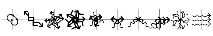 Arrowbytes Font OTHER CHARS