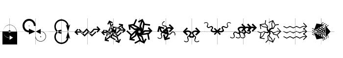 Arrowbytes Font UPPERCASE