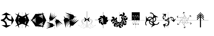 Arrowbytes Font LOWERCASE