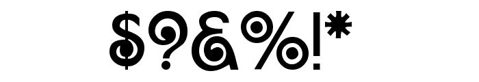 Arruba Font OTHER CHARS