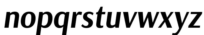 Arsenal Bold Italic Font LOWERCASE