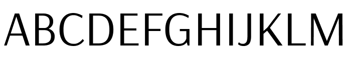 Arsenal Regular Font UPPERCASE