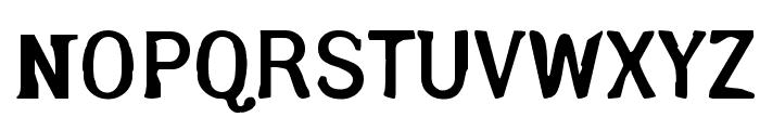 Arsle Gothic Font UPPERCASE