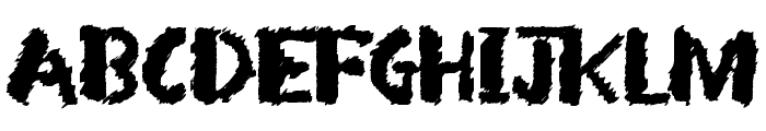 Arsonist Font LOWERCASE