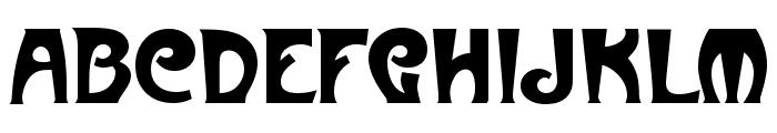 Art-Metropol Font UPPERCASE