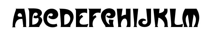 Art-Metropol Font LOWERCASE