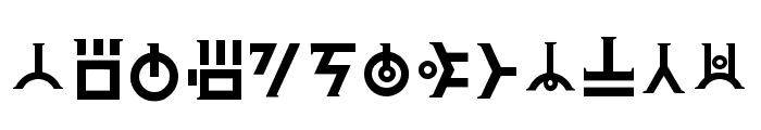 Art Of Creation _ Final Regular Font UPPERCASE