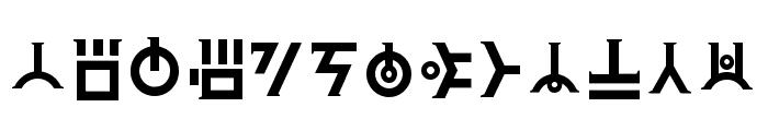 Art Of Creation _ Final Regular Font LOWERCASE