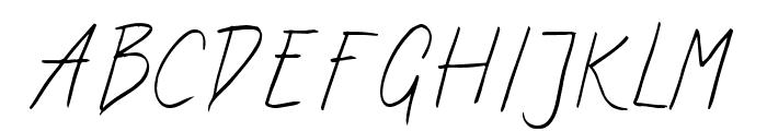 ArtCenter-Regular Font UPPERCASE