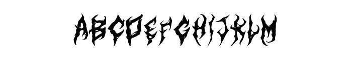 ArtDystopiaII Font UPPERCASE