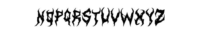ArtDystopiaII Font LOWERCASE
