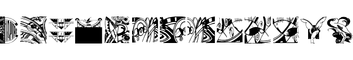 ArtElements Font UPPERCASE