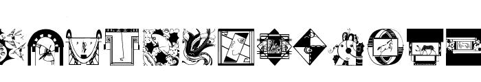 ArtElements Font LOWERCASE