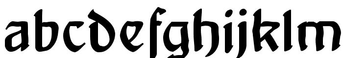 ArtNoveauDecadente Font LOWERCASE