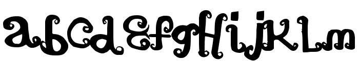 ArtTimes Font LOWERCASE