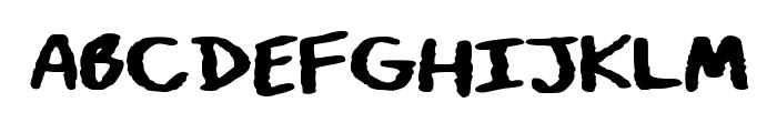 Art_Class Font UPPERCASE
