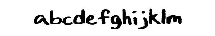 Art_Class Font LOWERCASE