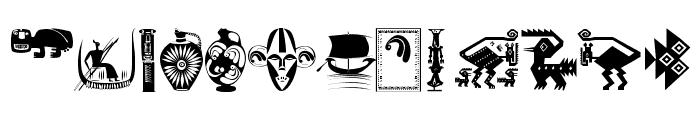 ArteAfrique Font UPPERCASE