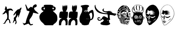 ArteFactsTwo Font OTHER CHARS