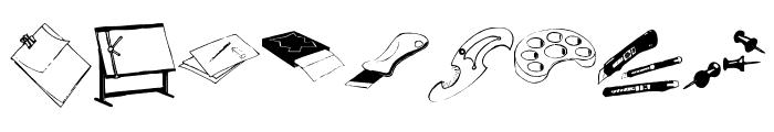 ArteStuff Font OTHER CHARS