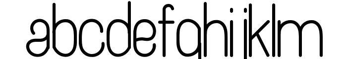 Artesana Font LOWERCASE