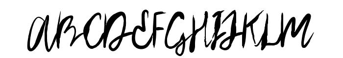 Arthard Font UPPERCASE