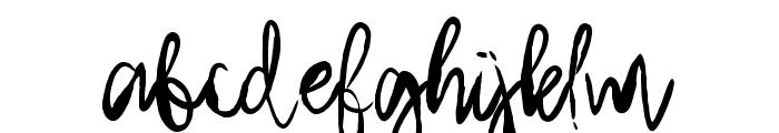 Arthard Font LOWERCASE